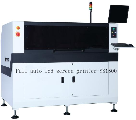 Full auto led screen printer-YS1500