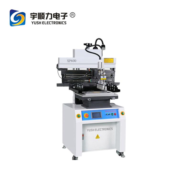 Semi Auto SMT/SMD Solder Stencil Screen Printer for LED Prod