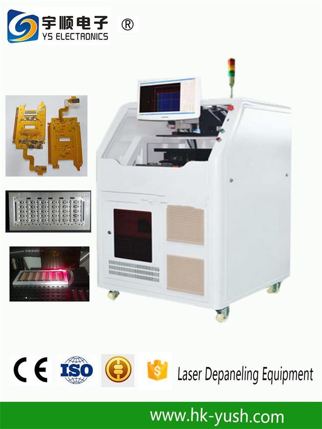 High Speed Laser PCB Depanelizer Machine for Neat / Mooth Ed