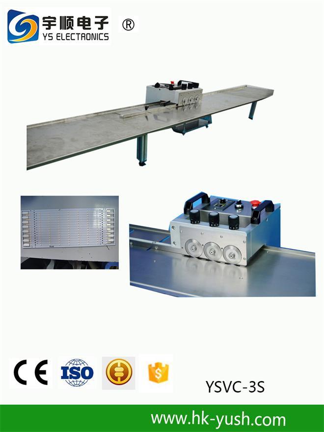 Pcb Depanelization Separating MCPCB Aluminium Long LED Strip