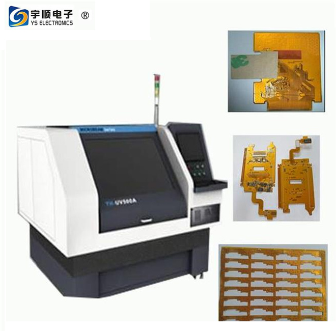 Optowave 355nm Laser Depaneling Machine For No Stress PCB Cu