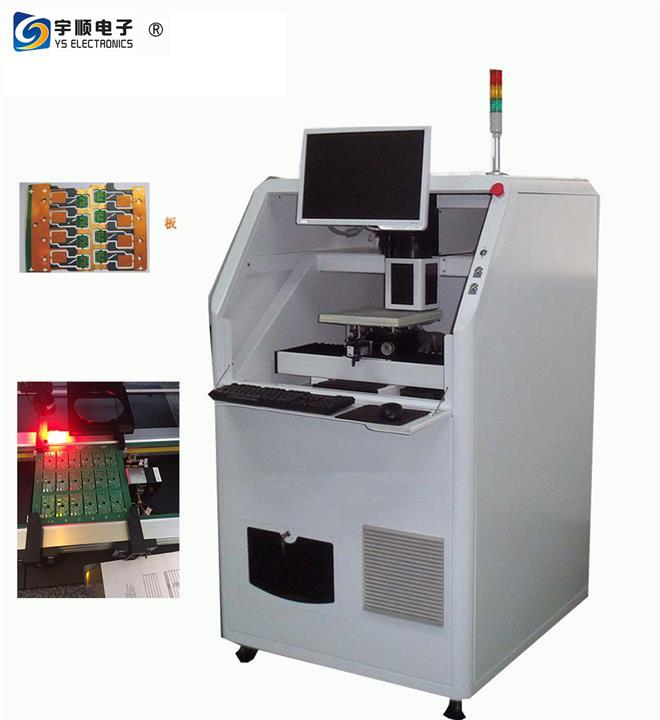 High Accuracy FPC Rigid - Flex PCB Laser Depaneling Machin