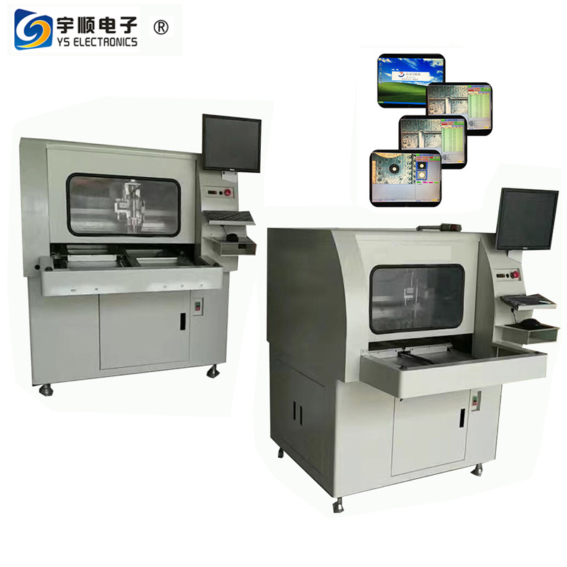 320*320mm FR1/FR4/MCPCB Router Machine With Dual Table