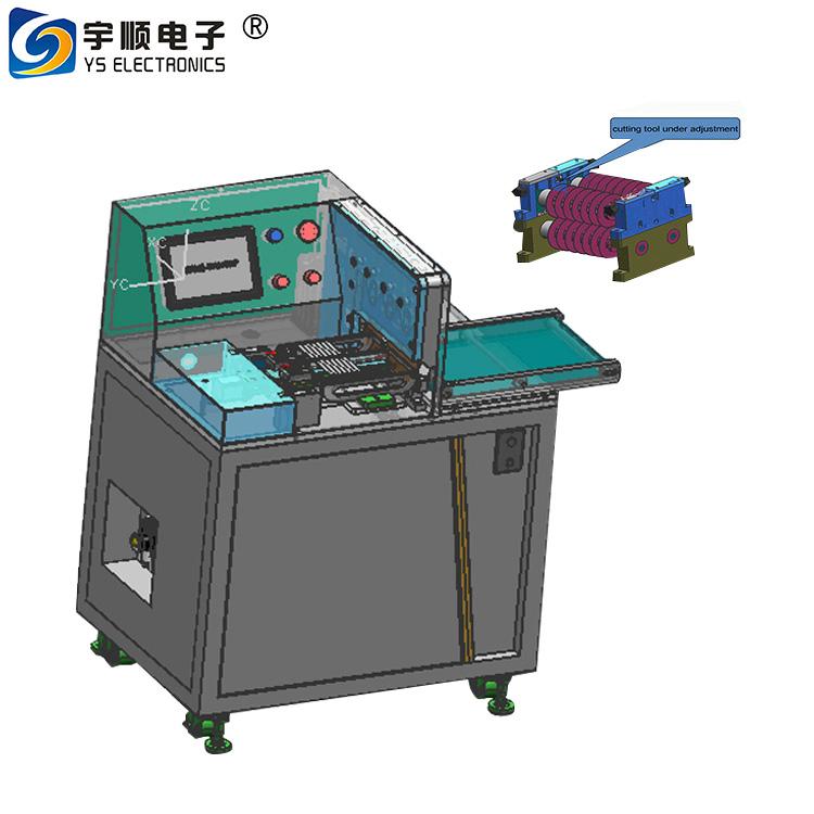 Multiple Slitter PCB Depaneling For Big Panel Aluminium Base