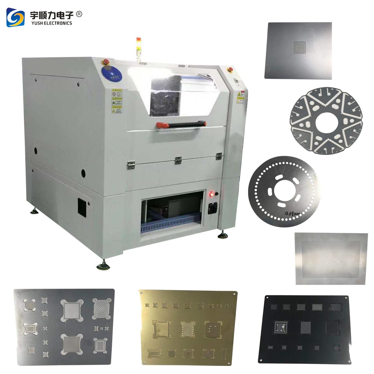 Sheet Metal Stencil Laser Depaneling Machine / SMT Cutting E