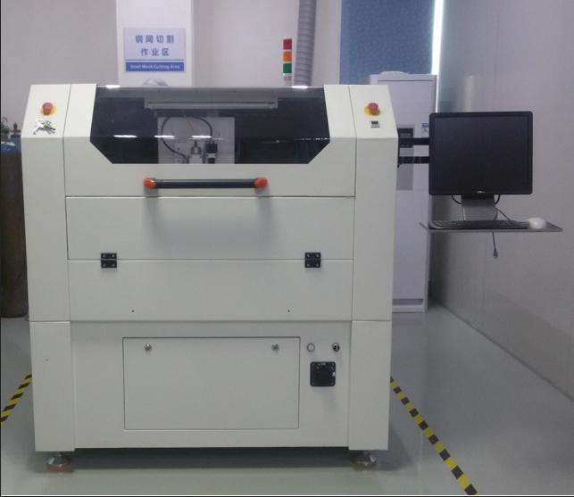 YS-GW50W Stencil Laser Cutting Machine