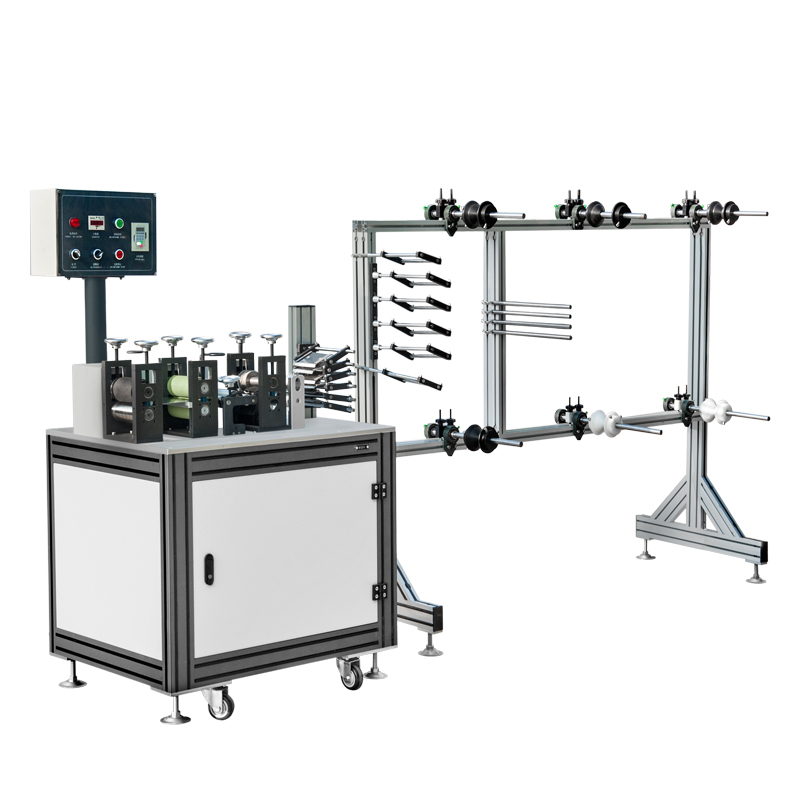 Automatic Cup Mask Covering Piece Making Machine- Automatic